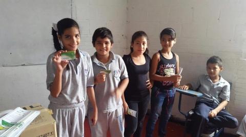 Socializacion Colegio nuevo Gandhy – Ruta AN1