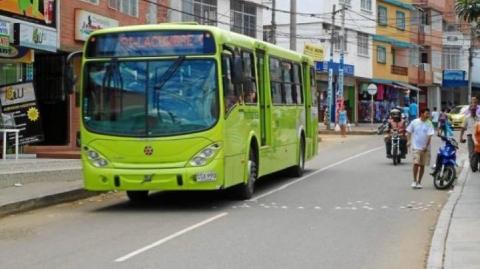 Metrolínea garantiza que rutas P1 y P2 volverán a recorridos anteriores cuando finalicen obras en Floridablanca
