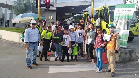 Portal Piedecuesta promueve acciones de sensibilización vial