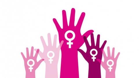 """Las mujeres se """"toman"""" Metrolínea en conmemoración del Día Internacional de la eliminación de la violencia de Género"""