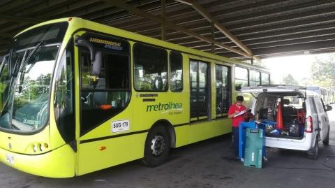 Buses del SITM cumplen con normas sobre emisiones contaminantes