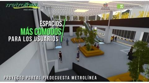 Nueva socialización para informar beneficios del Portal de Metrolínea en Piedecuesta