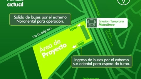 Inició Plan de Manejo de Tráfico en Portal de Piedecuesta