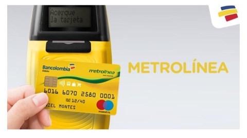 Más de 17 mil personas ya usan la tarjeta Bancolombia para ingresar a Metrolínea