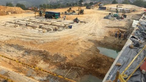 Cierran tramo vial cerca al Portal Norte – Ciudad Jardín, por construcción de red de aguas lluvias