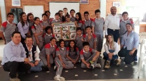 Estudiantes recibieron capacitación en temas ambientales por el Consorcio Portal Piedecuesta