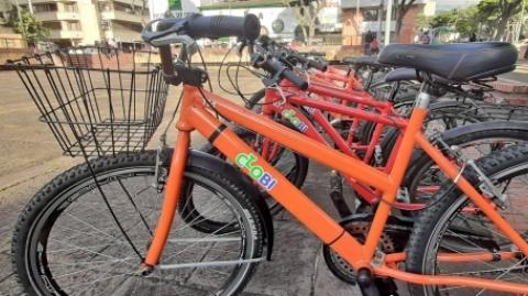 Hurtan bicicleta del Sistema de Bicicletas Públicas, ClobiBGA