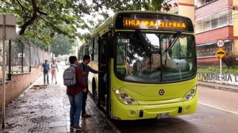 Metrolínea mejorará la prestación del servicio para los habitantes de la Comuna 3 de Floridablanca