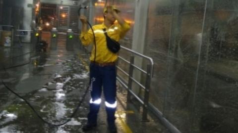 Metrolínea adopta medidas para prevenir el Covid-19 en usuarios del SITM