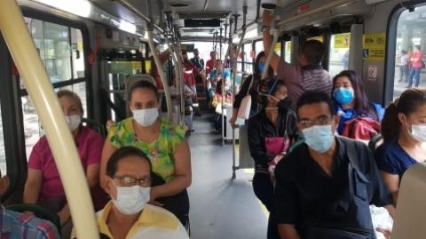 Metrolínea toma medidas de control para evitar aglomeraciones