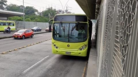 Metrolínea implementa la Ruta de la Salud