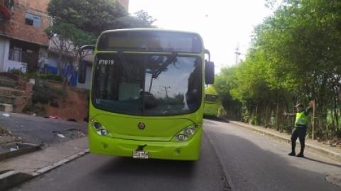 Operador de vehículo del SITM Metrolínea agredido se recupera