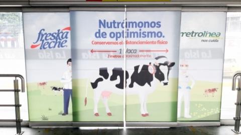 Metrolínea y Freskaleche crean alianza para incentivar el autocuidado de las familias Santandereanas