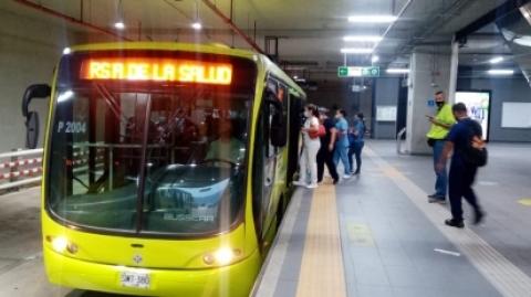 El SITM Metrolínea suspende la 'Ruta de la Salud'
