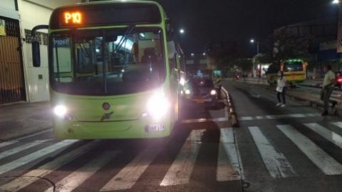 El SITM Metrolínea rechaza agresión a operador de bus y usuarios